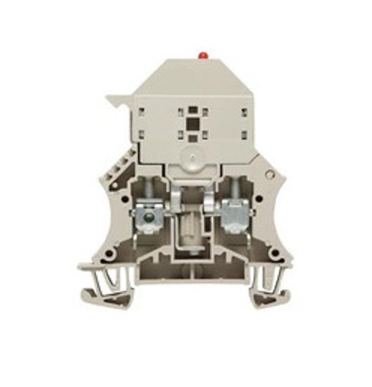 Immagine di 1011300000 - Morsetto portafusibile per fusibili 5 x 20 mm Sez. 6mm² con led