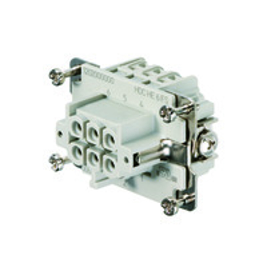 Immagine di 1200200000 - Connettore femmina di potenza 500 V, 24A, 6 poli