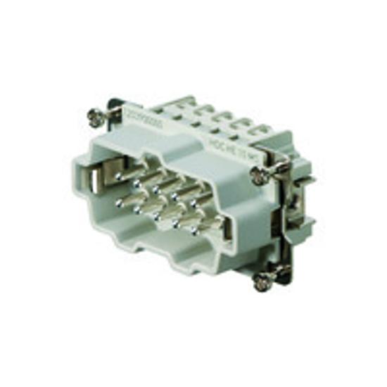Immagine di 1203900000 - Connettore maschio di potenza 500 V, 16A, 10 poli