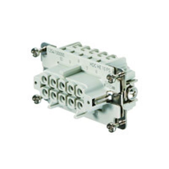 Immagine di 1204100000 - Connettore femmina di potenza 500 V, 16A, 10 poli