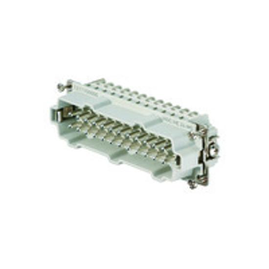 Immagine di 1211100000 - Connettore maschio di potenza 500 V, 16A, 24 poli