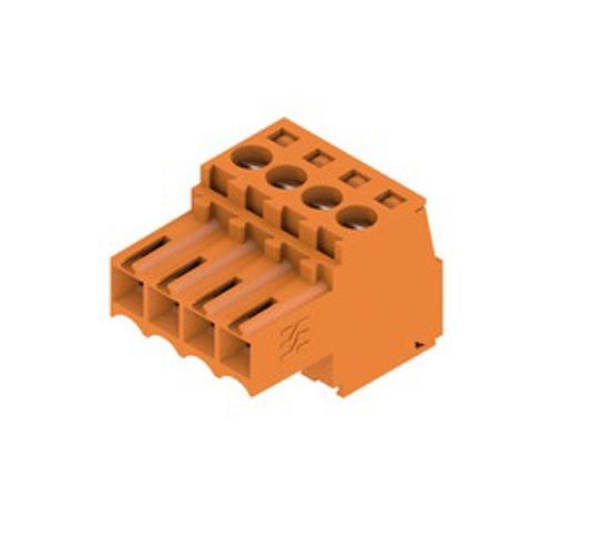 Immagine di 1597380000 - Connettore per circuito stampato - BL 3.50/04/180 SN OR BX