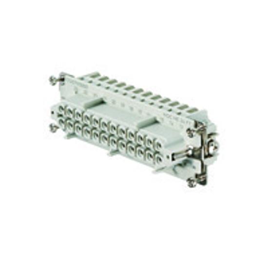 Immagine di 1745790000 - Connettore femmina di potenza 500 V, 16A, 24 poli
