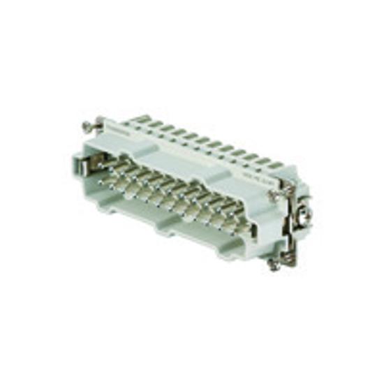 Immagine di 1745850000 - Connettore maschio di potenza 500 V, 16A, 24 poli