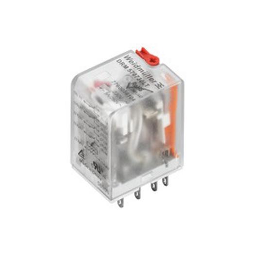 Immagine di 7760056104 - Relè ad innesto 4 contatti con led 230Vac 5A