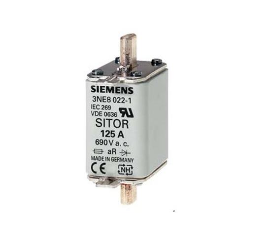 Immagine di Cartuccia fusibile SITOR, con contatti lamellari, NH00, In: 80 A, aR, Un AC: 690 V, Un DC: 440 V