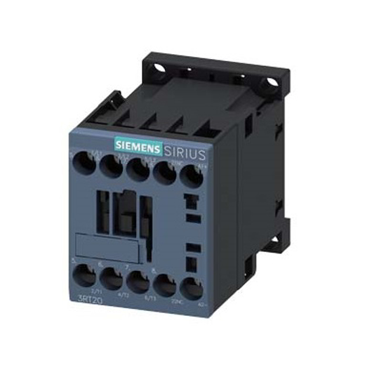 Immagine di Contattore di potenza, AC-3 12 A, 5,5 kW / 400 V 1 NC, 24 V DC a 3 poli