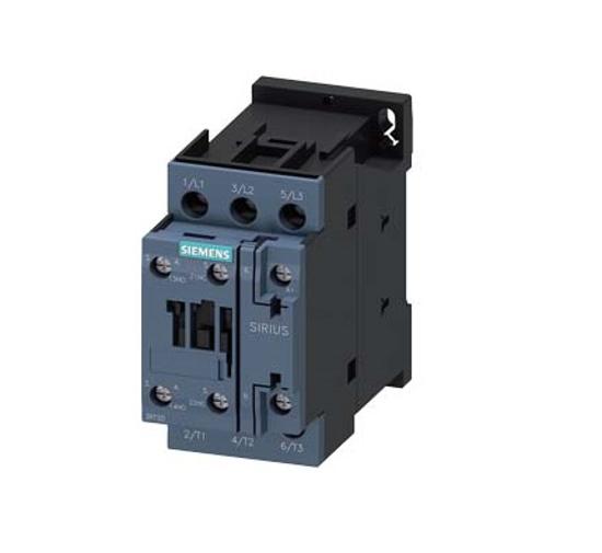 Immagine di Contattore di potenza, AC-3 12 A, 5,5 kW / 400 V 1 NO + 1 NC, 24 V AC, 50 Hz a 3 poli