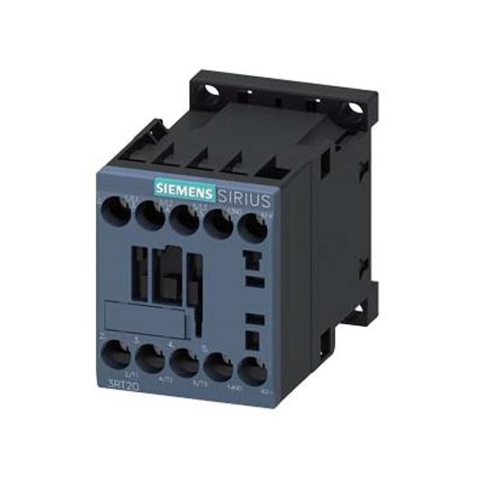 Immagine di Contattore di potenza, AC-3 12 A, 5,5 kW / 400 V 1 NO, 24 V DC a 3 poli