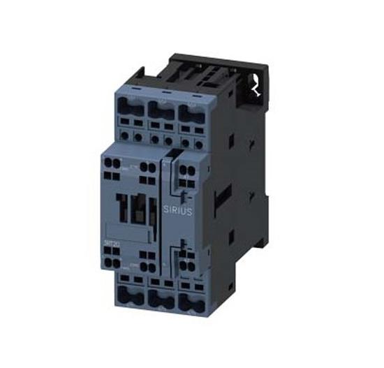 Immagine di Contattore di potenza, AC-3 17 A, 7,5 kW / 400 V 1 NO + 1 NC, 230 V AC, 50 Hz, 3 poli