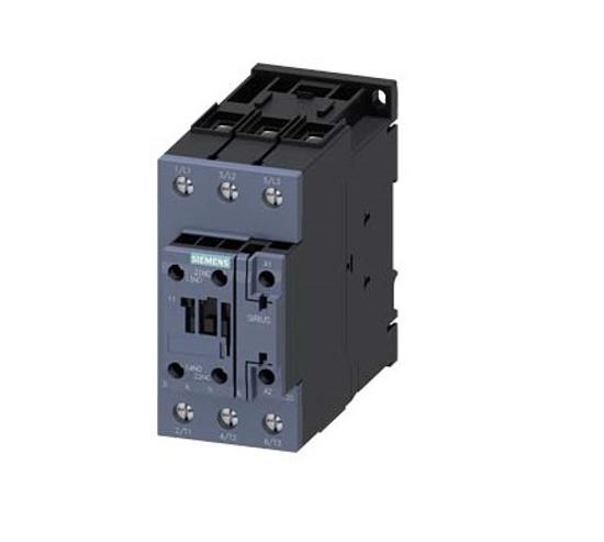 Immagine di Contattore di potenza, AC-3 40 A, 18,5 kW / 400 V 1 NO + 1 NC, 110 V CA 50 Hz, 3 poli