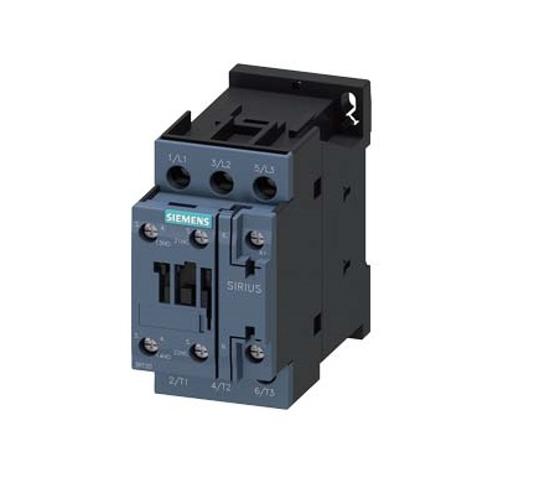 Immagine di Contattore di potenza, AC-3 9 A, 4 kW / 400 V 1 NO + 1 NC, 110 V AC, 50 Hz a 3 poli