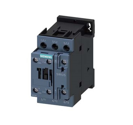 Immagine di Contattore di potenza, AC-3 9 A, 4 kW / 400 V 1 NO + 1 NC, 24 V AC, 50 Hz a 3 poli