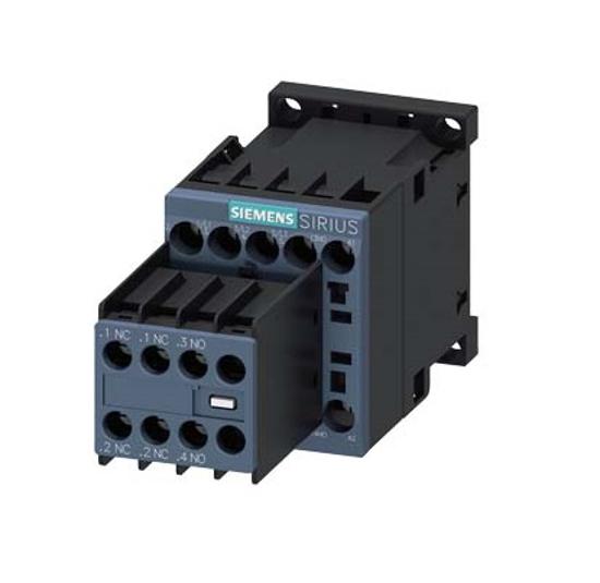 Immagine di Contattore di potenza, AC-3 9 A, 4 kW / 400 V 2 NO + 2 NC, 24 V DC a 3 poli