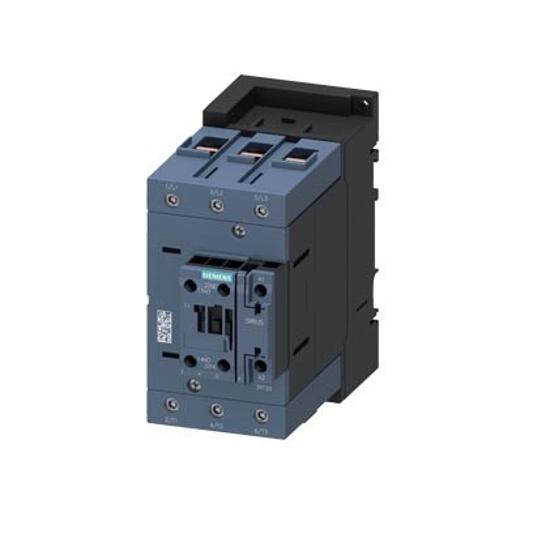 Immagine di Contattore di potenza, AC-3 95 A, 45 kW / 400 V 1 NO + 1 NC, 24 V AC, 50 Hz a 3 poli, 3 NO