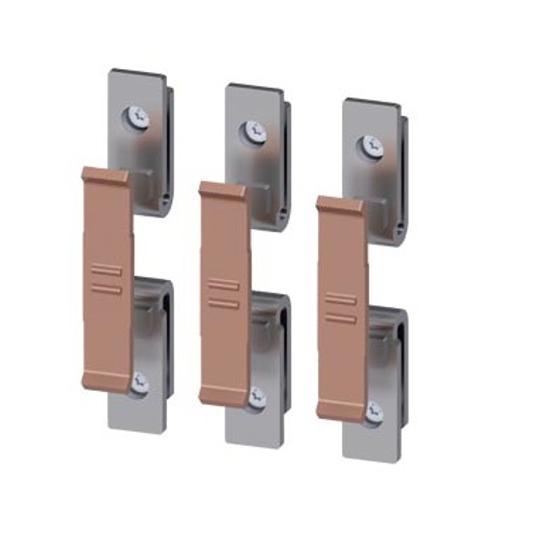 Immagine di I pezzi di contatto di ricambio per 3RT1054 sono costituiti da 3 contatti mobili e 6 fissi con parti di montaggio