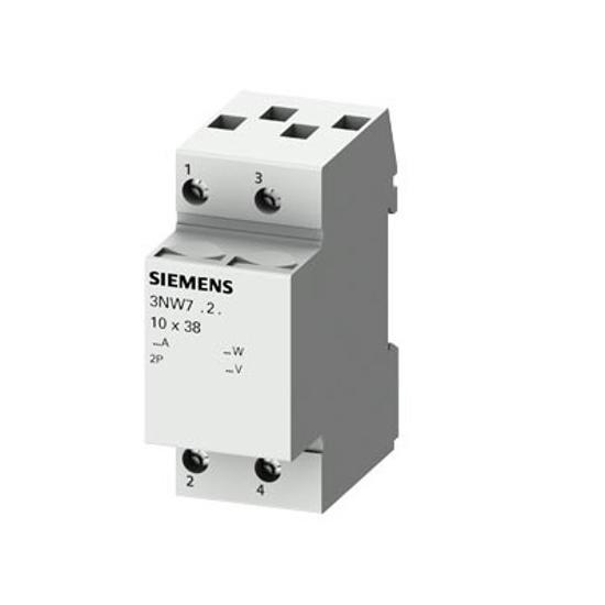Immagine di Portafusibile cilindrico, 10x38 mm, 2 poli, In: 32 A, Un AC: 690 V