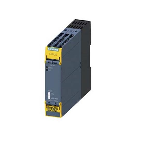 Immagine di Relè di sicurezza SIRIUS Apparecchio base Serie standard Circuiti di abilitazione relè 3 contatti NA