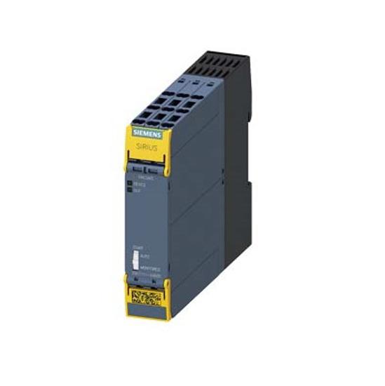Immagine di Relè di sicurezza SIRIUS Unità base Serie standard Circuiti di abilitazione relè 3 contatti NO