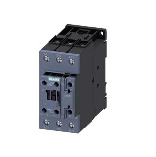 Immagine di Contattore di potenza, AC-3 50 A, 22 kW / 400 V 1 NO + 1 NC, 110 V AC, 50 Hz, 3 poli
