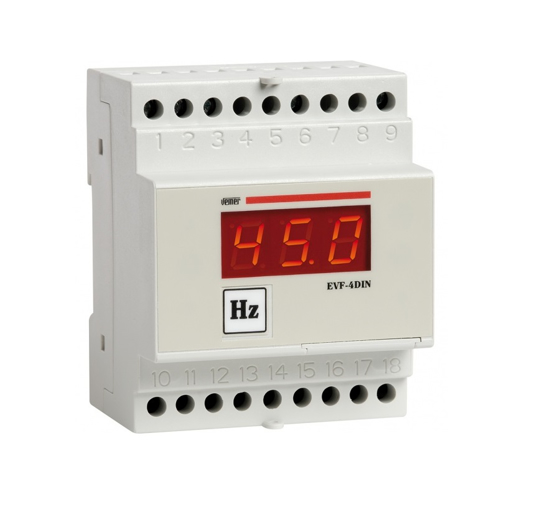 Immagine di VM292000 - Frequenzimetro digitale da barra DIN per la misura della frequenza .