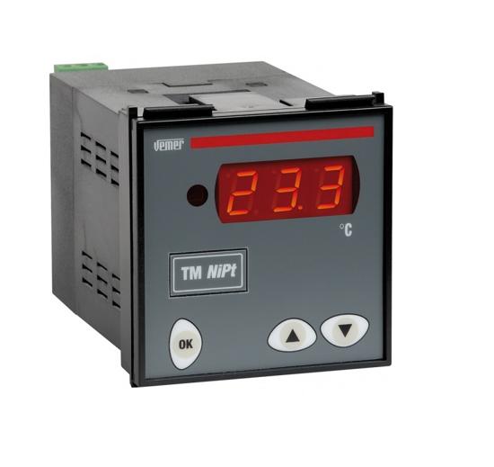 Immagine di VM619400 - Termometro digitale da pannello per la misura delle temperatura  24/230V AC - 50/60Hz