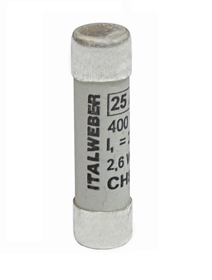 Immagine di Fusibile CH8 gG 10A 400V - 8,5 x 31,5 mm