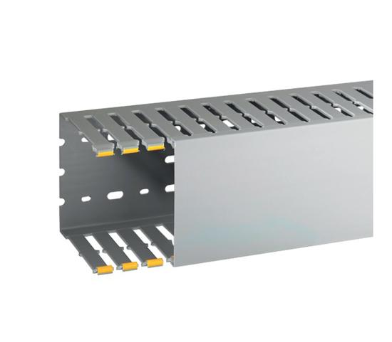 Immagine di Canalette per cablaggio di quadri elettrici T1-N 100X100