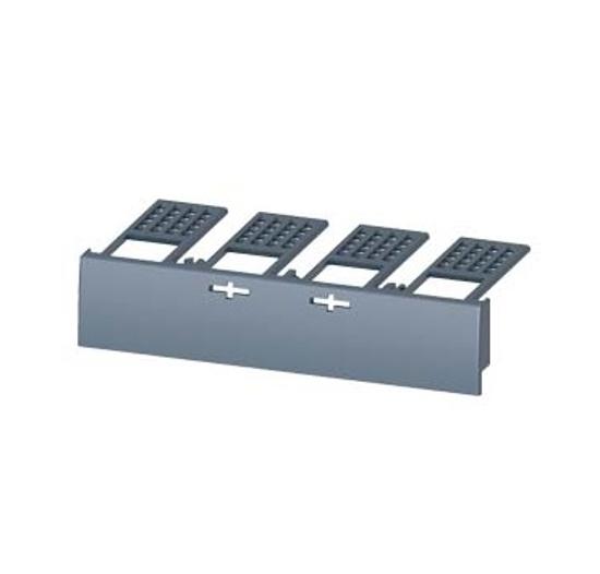 Immagine di Calotta coprimorsetti per base in esecuzione rimovibile ed estraibile, per interruttore automatico, a 4 poli 3VA1 100/160