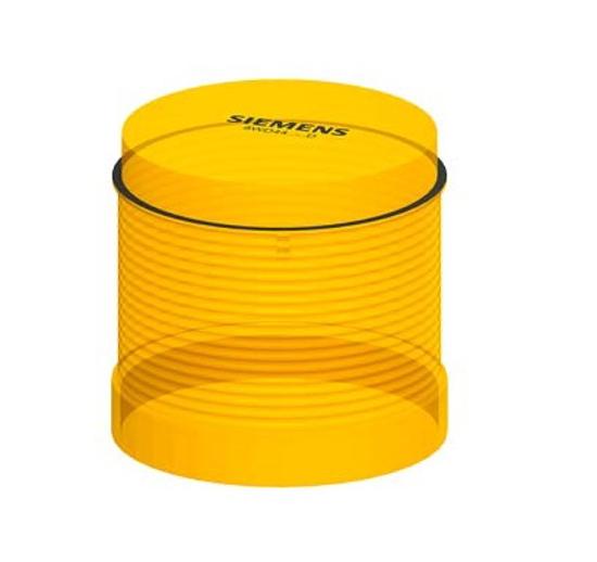 Immagine di Elemento luminoso lampeggiante, con LED integrato, giallo, AC/DC 24 V, diametro 70 mm
