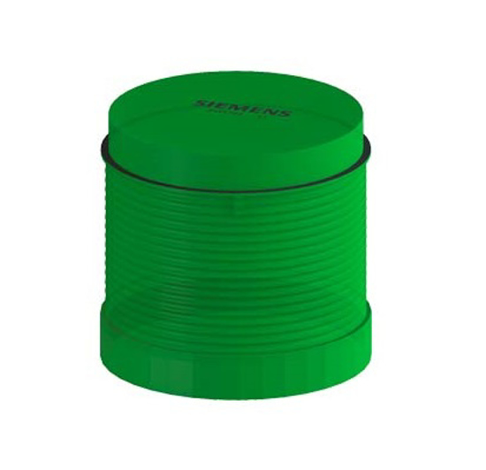 Immagine di Elemento a luce fissa, verde, AC/DC 12-230 V, 70 mm diametro