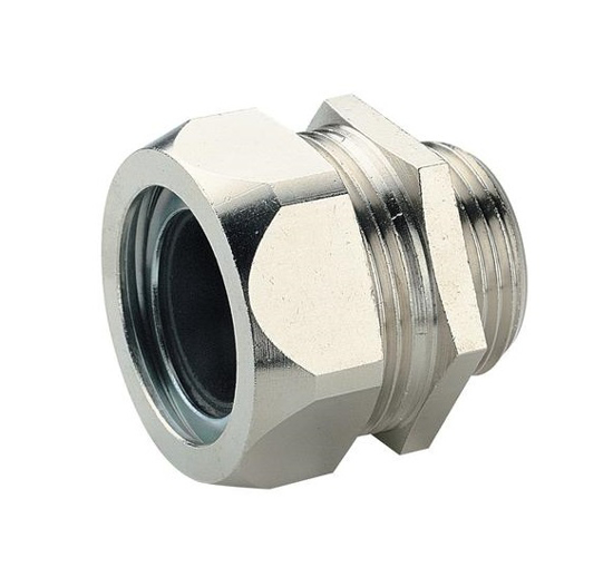 Immagine di Pressacavo metallico a serraggio meccanico Filettatura: PG13.5