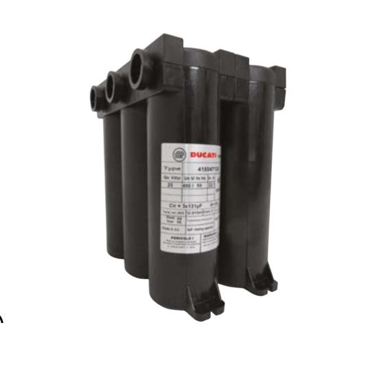 Immagine di DUCATI F50 MONO Long Life 4In Condensatore trifase 415V - 3X31μF
