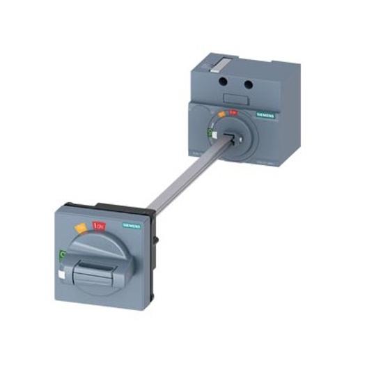 Immagine di Comando rotativo bloccoporta standard IEC IP65 con blocco porta Accessori per: 3VA1 100/160