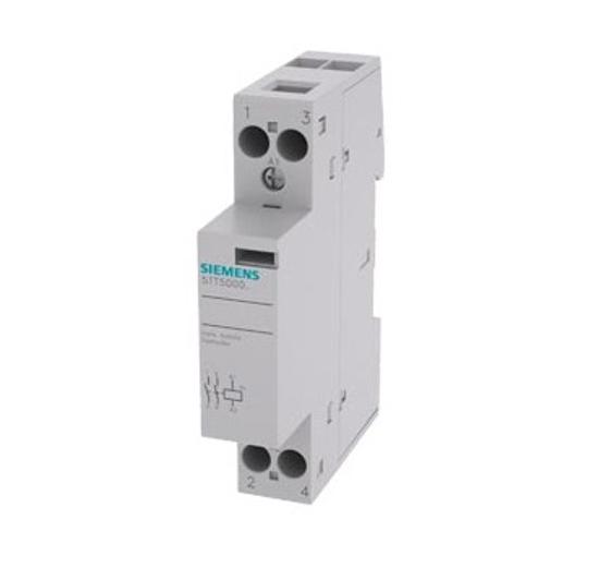 Immagine di Contattore INSTA con 2 contatti NO, contatto per AC 230V, 400V 20A comando in AC 24V