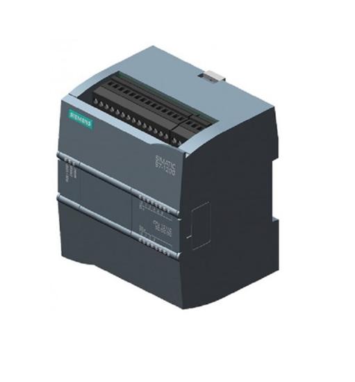 Immagine di SIMATIC S7-1200, CPU 1212C, CPU compatta, Relè AC/DC I/O onboard: 8 DI, DC 24 V relè 6 DO 2A; 2 AI 0-10V DC