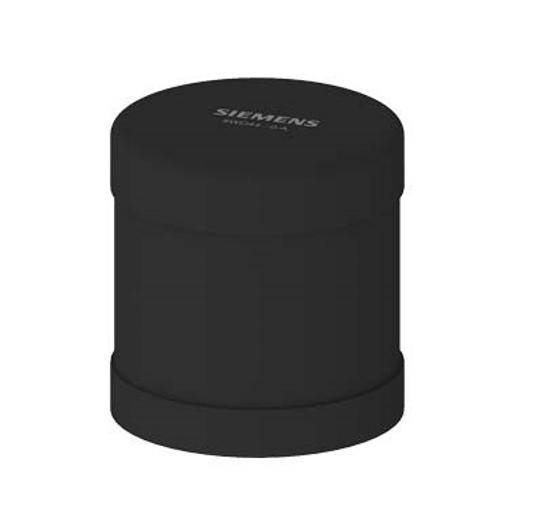 Immagine di Elemento ronzatore, suono continuo o pulsante, impostabile, 85 dB, colore nero, AC/DC 24 V, diametro 70 mm