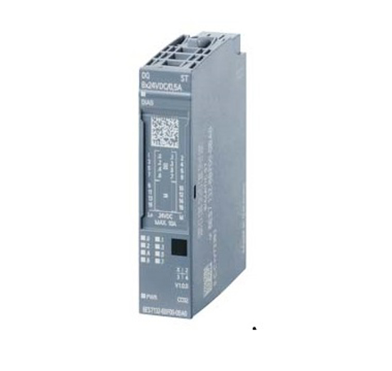 Immagine di SIMATIC ET 200SP, Modulo di uscite digitali, DQ 8x 24VDC/0,5A High Feature, Source Output PNP, commutazione su P
