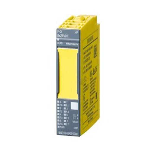 Immagine di IMATIC DP, modulo di elettronica per ET 200SP, F-DI 8x 24VDC HF, Larghezza costruttiva 15mm, fino a PL E (ISO 13849-1)/ SIL3 (IEC 61508)