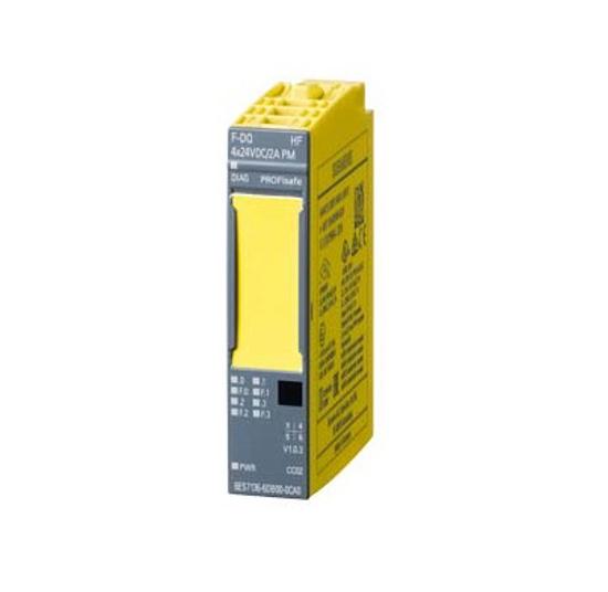Immagine di SIMATIC DP, modulo di elettronica per ET 200SP, F-DQ 4x24VDC/2A, Larghezza costruttiva 15mm, fino a PL E (ISO 13849) fino a SIL 3 (IEC 61508)