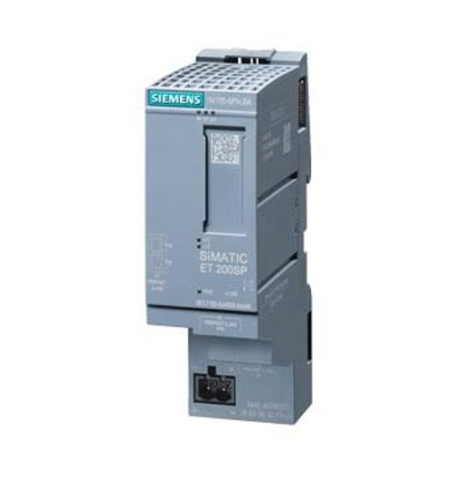 Immagine di SIMATIC ET 200SP, Modulo di interfaccia PROFINET IM 155-6PN Basic, max. 12 moduli di periferia, 2x prese RJ45 incorporate incl. modulo server