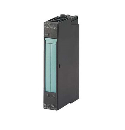 Immagine di SIMATIC DP, 5 moduli di elettronica per ET 200S, 2 DO High Feature DC 24V/0,5A