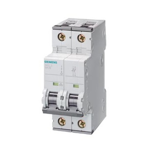 Immagine di Interruttore magnetotermico 400V 6kA, a 2 poli, C, 4A, P=70mm