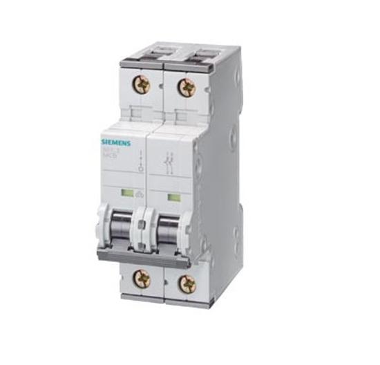 Immagine di Interruttore magnetotermico 400V 10 kA, a 2 poli, C, 50A, P=70 mm