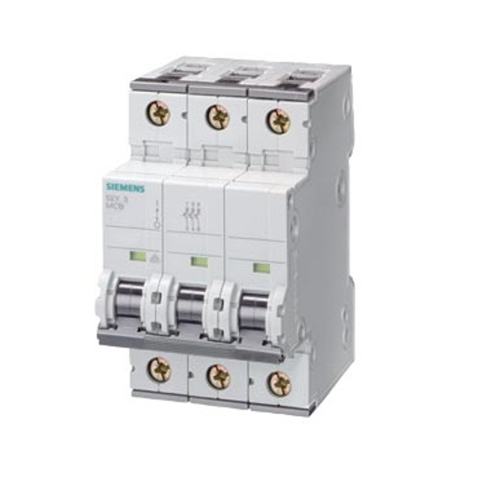 Immagine di Interruttore magnetotermico 400V 6kA, a 3 poli, B, 50A, P=70 mm