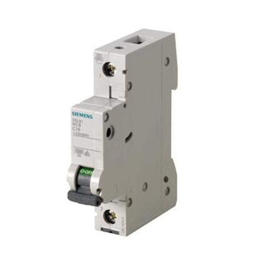 Immagine di Interruttore magnetotermico 230/400 V 6kA, a 1 polo C, 16A esecuzione Italia