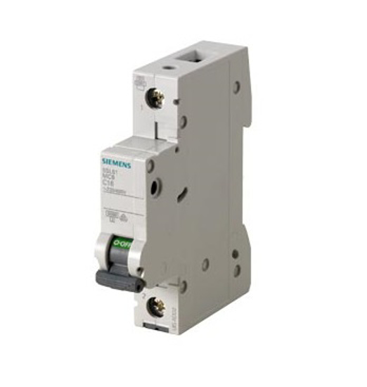 Immagine di Interruttore magnetotermico 230/400 V 6kA, a 1 polo C, 4A esecuzione Italia