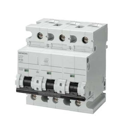 Immagine di Interruttore magnetotermico 400V 10 kA, a 3 poli, C, 80A, P=70mm