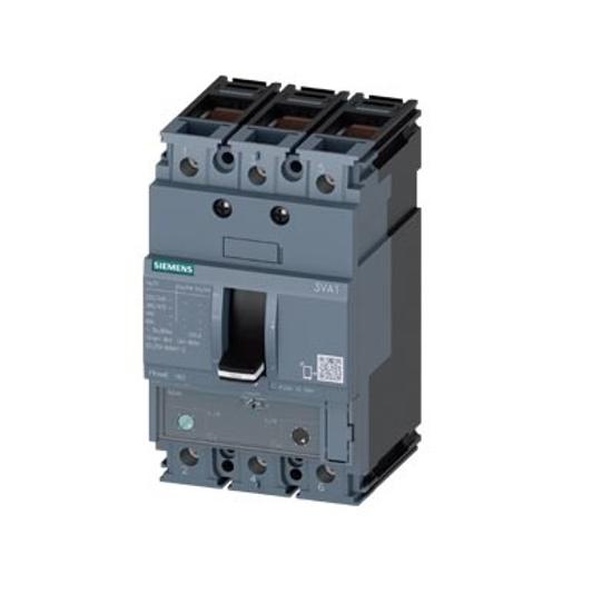 Immagine di Interruttore automatico 3VA1 IEC frame 160 classe del potere di interruzione N Icu=25kA @ 415V a 3 poli
