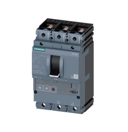 Immagine di Interruttore automatico 3VA2 IEC Frame 250 Classe del potere di interruzione M Icu=55kA @ 415V a 3 poli